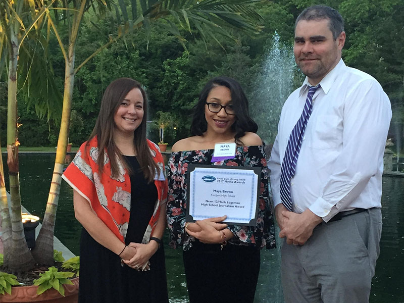 FHS Journalist Awarded Scholarship