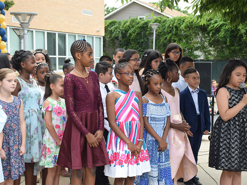 Fourth-Graders Move On Up