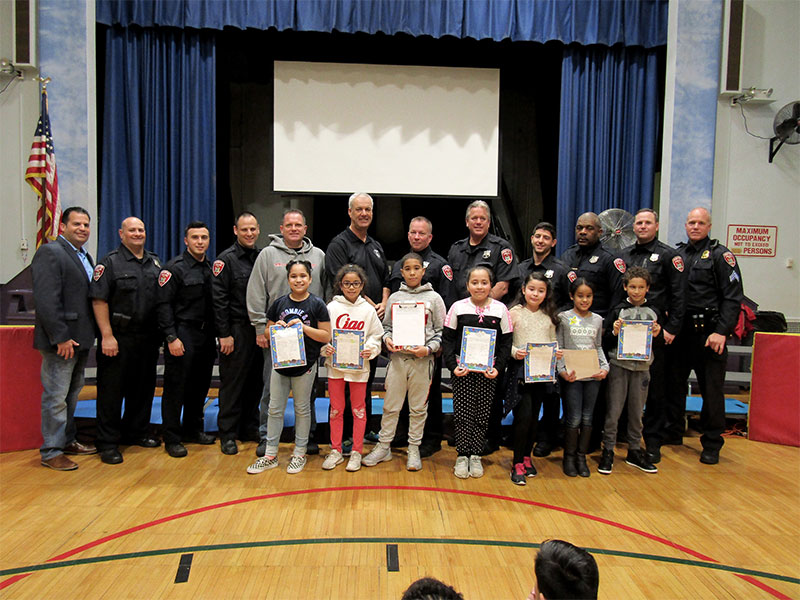 Students Pair Up with Local Police Officers