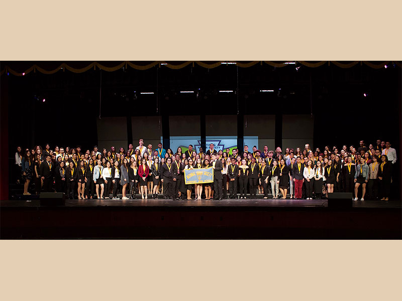 FHS Inducts 99 to National Honor Society