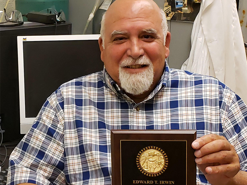 Science Teacher Received County Honor
