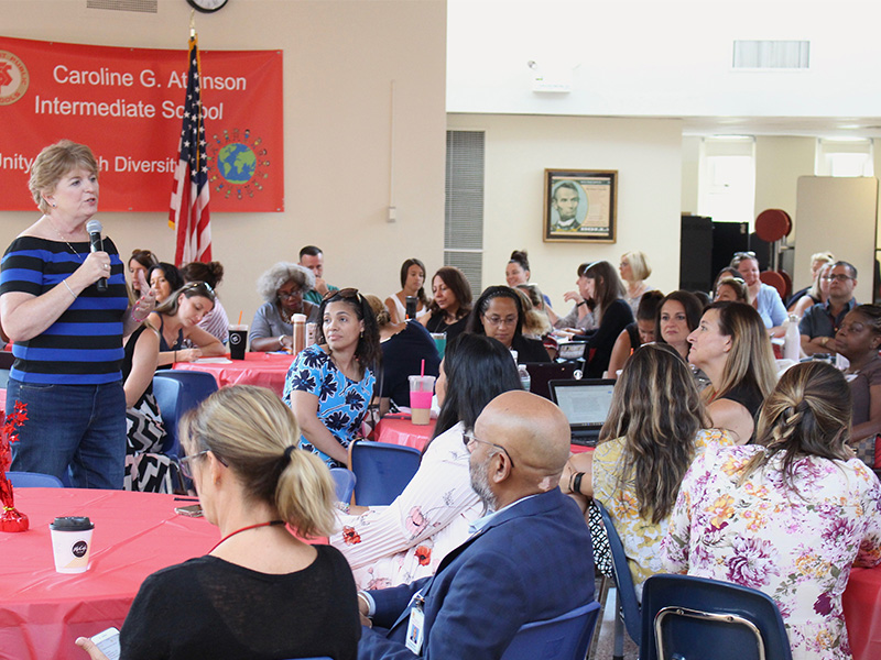 District Hosts Third Consecutive Literacy Institute