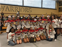 Cheerleaders Earn Trip to States photo