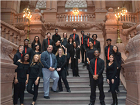 FHS Musicians Showcase Talents at Empire Plaza photo