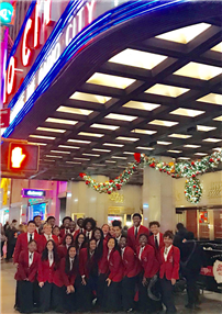 FHS Select Chorale Dazzles in Radio City Debut photo 2