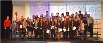 FHS Inducts 47 in First Tri-M Music Honor Society Induction Ceremony photo 2
