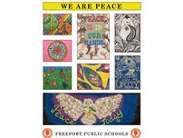 Freeport Schools 'Grow Peace' photo