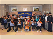 Toys for Freeport Tots Donates Instruments to Atkinson photo