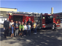 Bayview Students Learn Fire Safety photo 2
