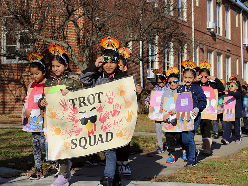 Schools March for a Cause